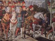 Benozzo Gozzoli The train of the holy three Konige oil painting picture wholesale