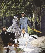 Claude Monet Luncheon on the Grass oil painting picture wholesale