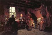 Eastman Johnson The Pension Agent oil painting picture wholesale