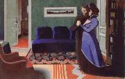 Felix Vallotton The Visit oil painting picture wholesale