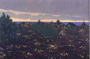 Felix Vallotton Antique Evening oil painting picture wholesale