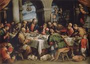 Francesco Bassano the younger The communion oil painting artist
