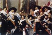 Frans Hals Festmabl of the officers of the St. Jorisdoelen in Haarlem oil painting picture wholesale