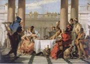 Giambattista Tiepolo The banquet of the Kleopatra oil painting picture wholesale