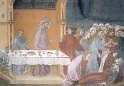 Giotto The death of the knight of Celano oil painting picture wholesale