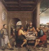 Jacopo Bassano The meal in Emmaus oil painting picture wholesale