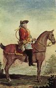 Louis Carrogis Carmontelle Louis-Philippe, duke of Orleans, in the hunt suit oil painting picture wholesale