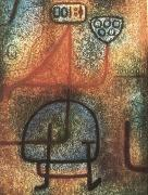 Paul Klee The handsome tradgardsarbeterskan oil painting artist