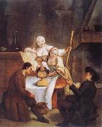 Pietro Longhi The Polenta oil painting picture wholesale