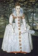 Robert Peake the Elder Elizabeth Queen of Bohemia oil painting artist