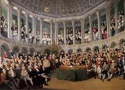 Thomas Pakenham The Irish House fo Commons addressed by Henry Grattan in 1780 during the campaign to force Britain to give Ireland free trade and legislative independ oil painting picture wholesale