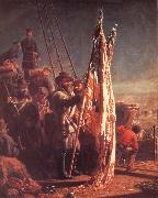 Thomas Waterman Wood The Return of the Flags 1865 oil painting picture wholesale