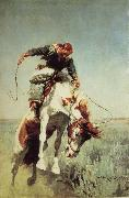 William Herbert Dunton Bronc Rider oil painting picture wholesale