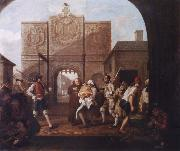 William Hogarth At the city gate of Calais oil painting picture wholesale