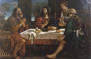 unknow artist Christ in Emmaus oil painting picture wholesale