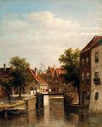 unknow artist European city landscape, street landsacpe, construction, frontstore, building and architecture.057 oil painting picture wholesale
