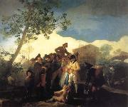 Francisco Goya Blind Guitarist oil painting picture wholesale