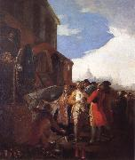 Francisco Goya Fair of Madrid oil painting picture wholesale
