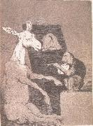 Francisco Goya Ni mas ni menos oil painting reproduction