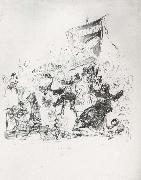 Francisco Goya Drawing for plate 190 oil painting picture wholesale