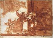 Francisco Goya Drawing for Poor folly oil painting picture wholesale