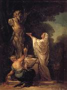 Francisco Goya Sacrifice to Pan oil painting reproduction
