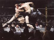 George Bellows Set-to oil painting picture wholesale