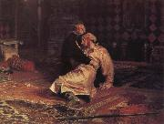 Ilya Repin Ivan the Terrible and his Son on 16 November 1581 oil painting