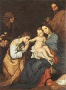 Jusepe de Ribera The Holy Family with St Catherine oil painting picture wholesale