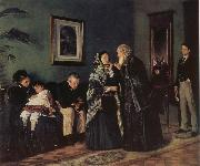 Makovsky, Vladimir In the Doctor-s Wating Room oil painting picture wholesale