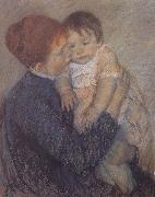 Mary Cassatt Agatha with her child oil painting picture wholesale
