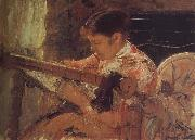 Mary Cassatt Mary is weaving oil painting picture wholesale