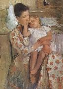 Mary Cassatt Amy and her child oil painting picture wholesale