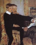 Mary Cassatt Alexander and his son Robert oil painting picture wholesale