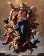 POUSSIN, Nicolas The Assumption of the Virgin oil painting picture wholesale