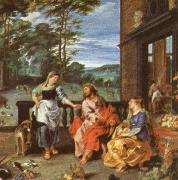 Peter Paul Rubens Christ at the House of Martha and mary oil painting picture wholesale