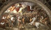 RAFFAELLO Sanzio The Meeting between Leo the Great and Attila oil painting picture wholesale