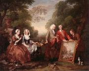 William Hogarth Dialogue oil painting picture wholesale