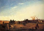unknow artist Presentation of Charger Coquette to Colonel Mosby by the men of his Command,December 1864 oil painting picture wholesale