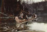 unknow artist On the,Flathead oil painting picture wholesale