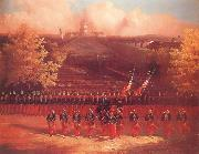 unknow artist The Army of the Potomac Marching up Pennsylvania Avenue,Washington oil painting picture wholesale