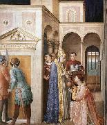 ANGELICO  Fra St Lawrence Receives the Treasures of the Church oil painting picture wholesale