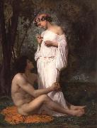 Adolphe William Bouguereau Idyii oil painting picture wholesale