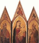Ambrogio Lorenzetti Altarpiece of St Proculus oil painting picture wholesale