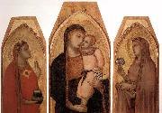 Ambrogio Lorenzetti Madonna and Child with Mary Magdalene and St Dorothea oil painting picture wholesale