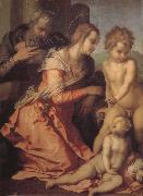 Andrea del Sarto Holy family oil painting picture wholesale