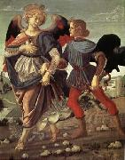 Andrea del Verrocchio Tobias and the Angel oil painting picture wholesale