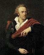 Antonio Fabres y Costa Portrait of Vittorio Alfieri oil