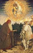 Antonio Pisanello Virgin and child with St. Goran and St Antonius oil painting picture wholesale