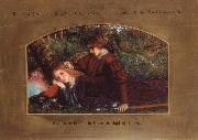 Arthur Hughes Enid and Geraint oil painting picture wholesale